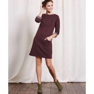 Boden Dotty Shift Dress 6L